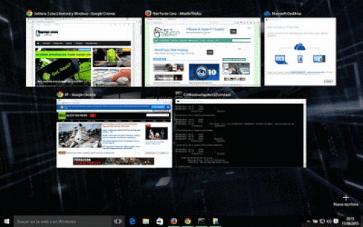 atajos de teclado de windows 10