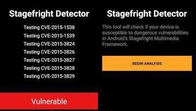 stagefright detector