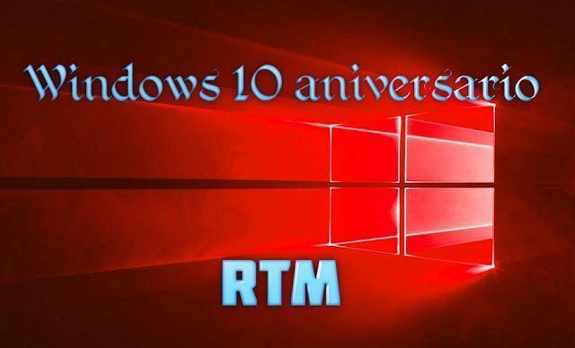 windows 10 rtm