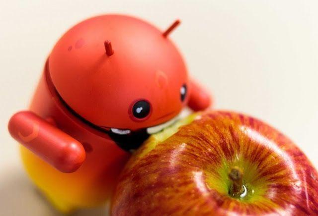 android come manzana