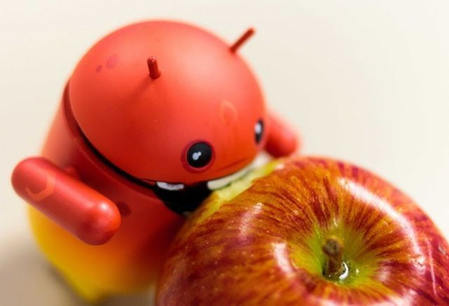 android come manzana
