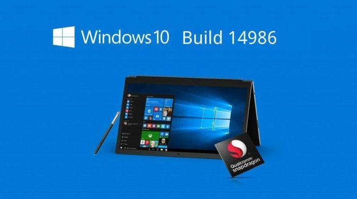 build 14986 de Windows 10