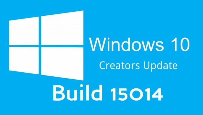 Windows 10 Build 15014