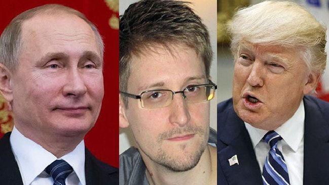 Edward Snowden vs Donald Trump