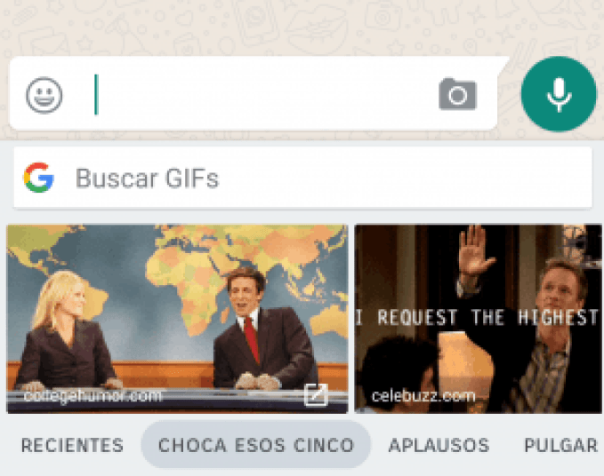 GIFs de whatsapp