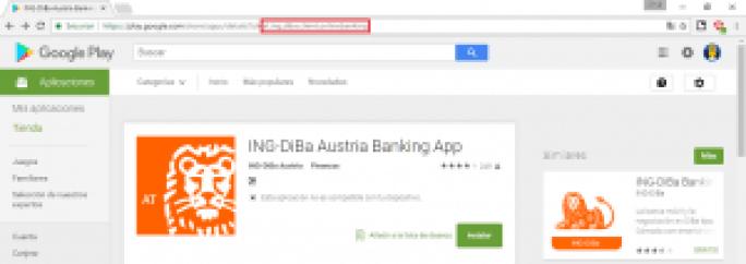 la aplicación de ing austria