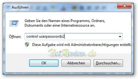 Windows 7 Programm ausfuehren