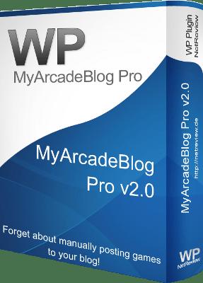 MyArcadeBlog Pro WordPress Plugin