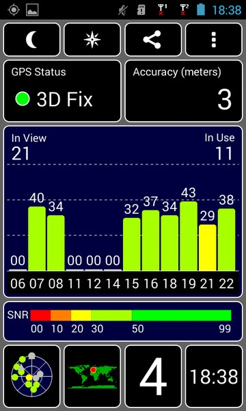 Icefox Thunder GPS Test