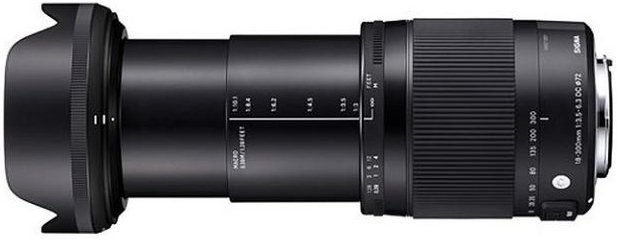 Sigma 18-300mm F3,5-6,3 DC Makro OS HSM