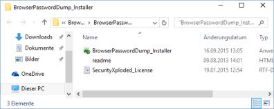 Browser-Password-Dump-Installer