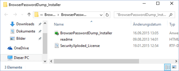 Browser-Password-Dump-Installer