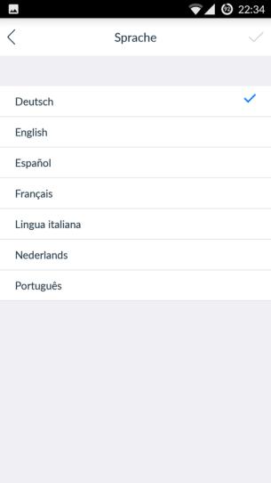 Ecovacs-App-Sprache