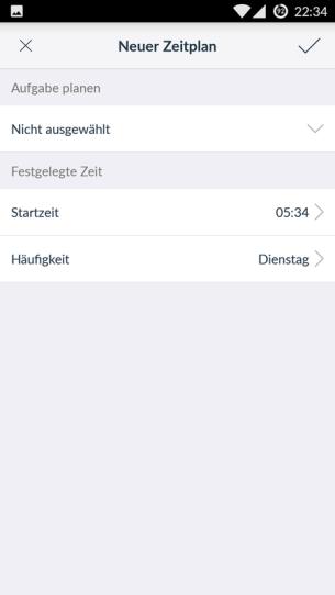 Ecovacs-App-Zeitplan