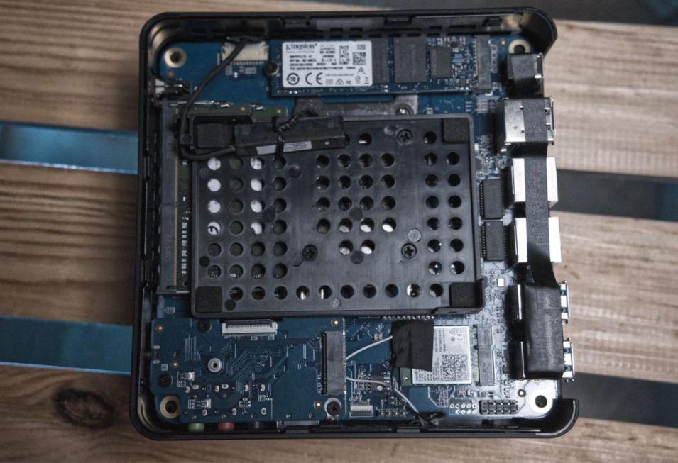 MINISFORUM EliteMini X300 - Interne Festplatte