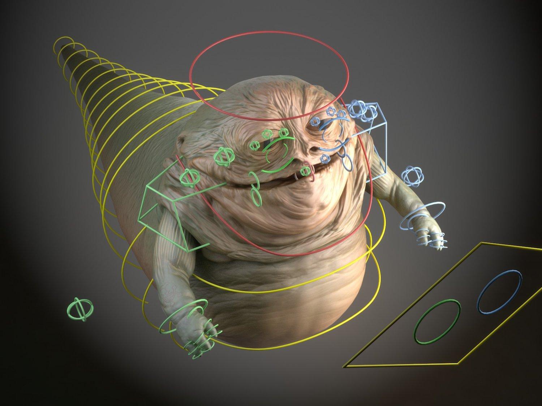 Star Wars Jabba The Hutt 3d Model In Monster 3dexport