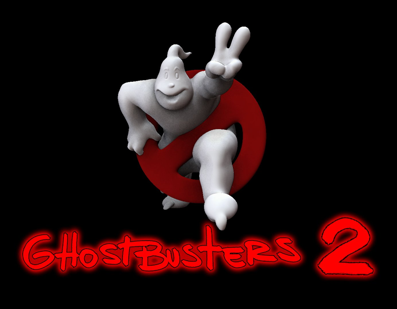 Ghostbuster 2 Logo 3d Model In Man 3dexport