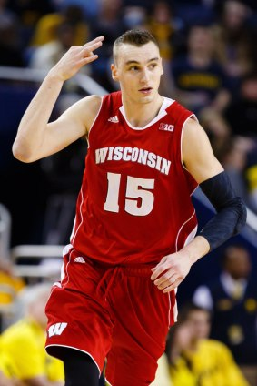 Image result for sam dekker wisconsin
