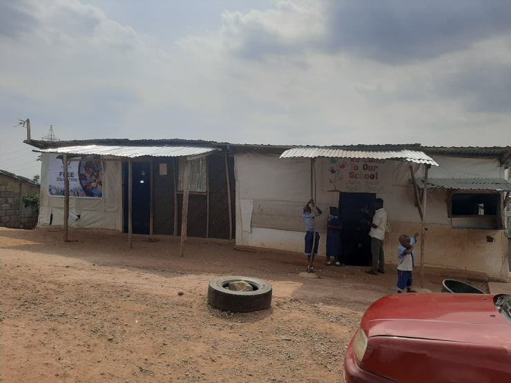 Nigerian man builds free school to educate less privileged kids (See Photos) 3