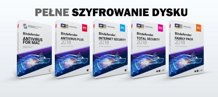 Bitdefender - pełne szyfrowanie dysku