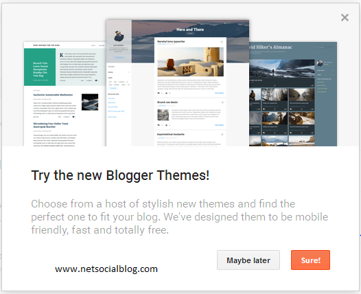 Blogger Introduces New and Free Responsive Templates – NetSocialBlog
