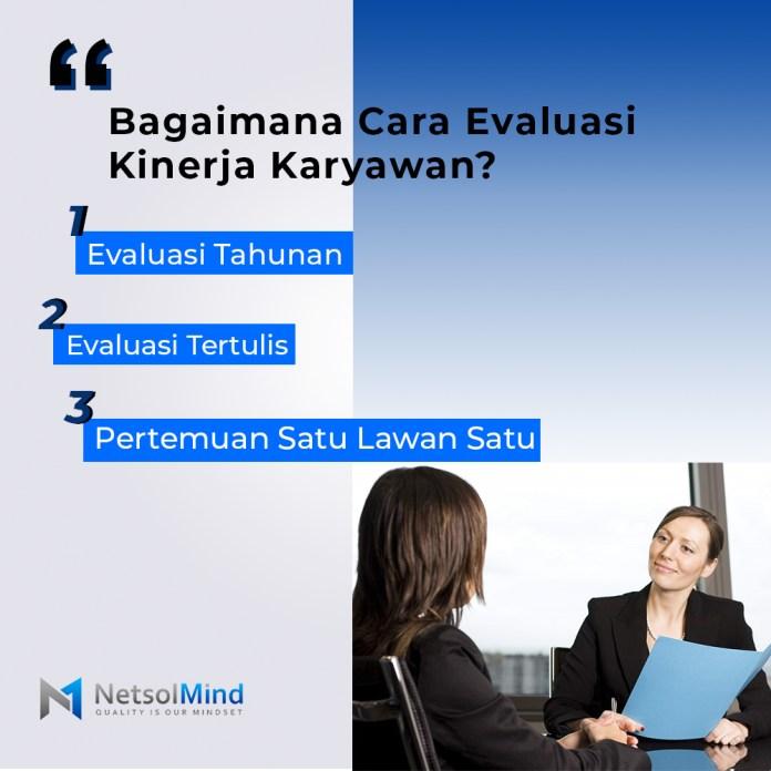 Manajemen kinerja bukan hanya evaluasi setahun sekali. Manajemen kinerja yang baik adalah kolaborasi positif dan berkelanjutan antara Anda sebagai karyawan dengan supervisor.