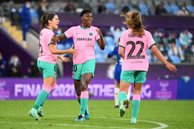 After defeating Chelsea, Nigerian star Victor  wins his first-ever UEFA Champions League with Barcelona.
