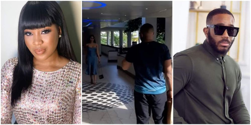 BBNaija Erica flaunts catwalk as Kiddwaya records