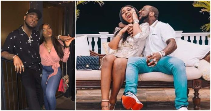 Image result for Davido praises Chioma, calls her his able wife as she names him her husband