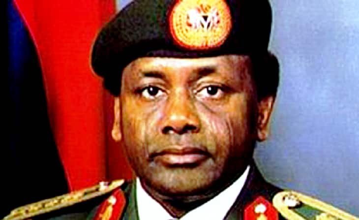 The de-facto President Sani Abacha's biography