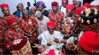 Image result for Ohaneze To Buhari