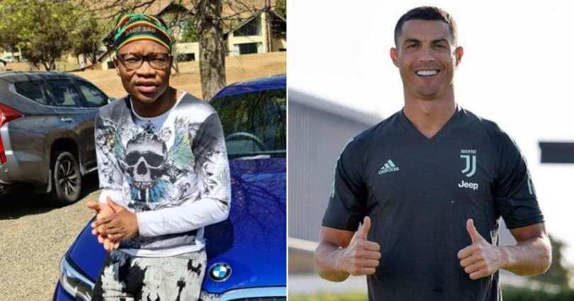 Cristiano Ronaldo Stuns Master KG After Grooving To Jerusalema
