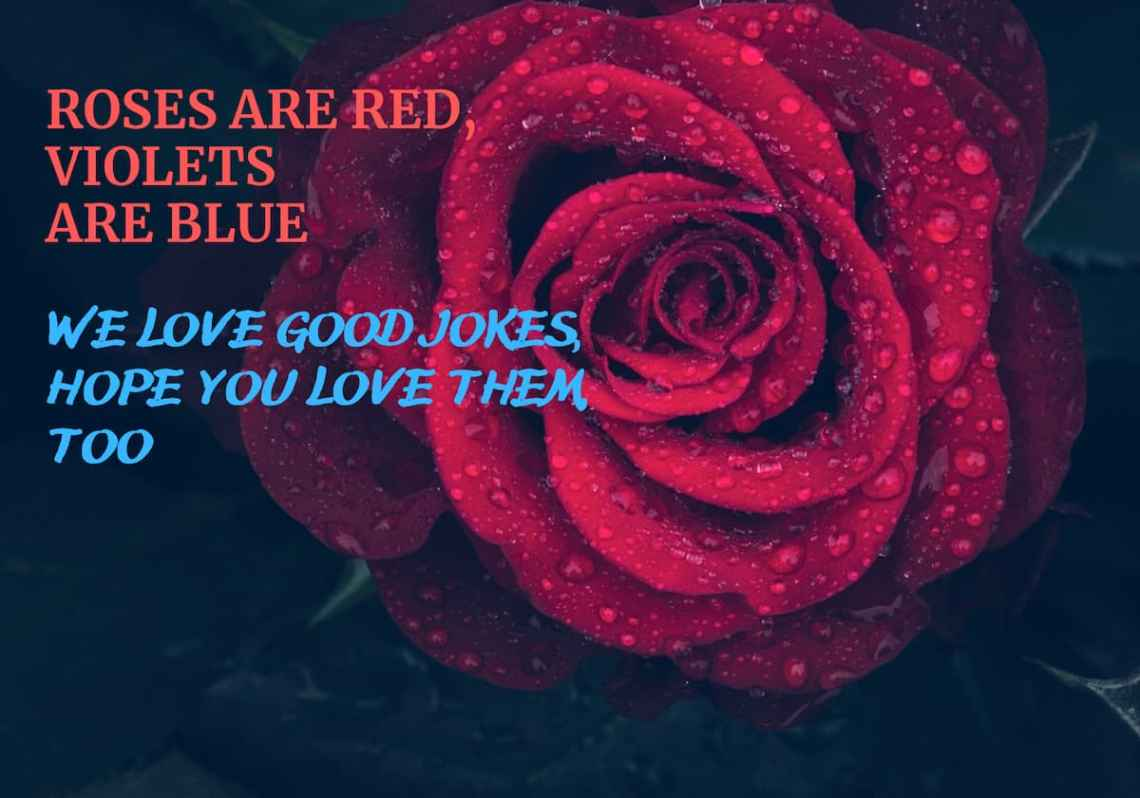 Funny Roses Are Red Violets Are Blue Jokes Poems And Memes Legit Ng