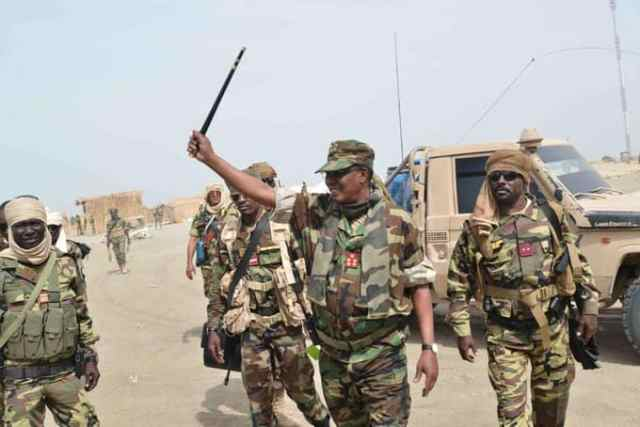 Chadian president leads soldiers to capture Boko Haram's arms store in Sambisa (Photos)