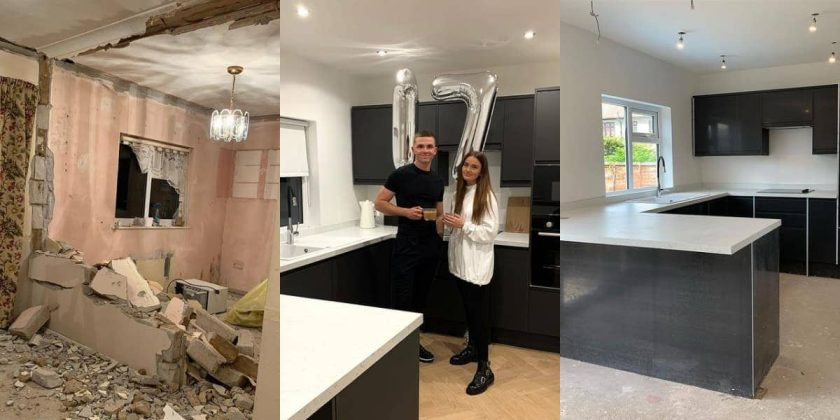 Couple, 23, Get People Asking for Some Decor Advice After Transforming Home Beautifully