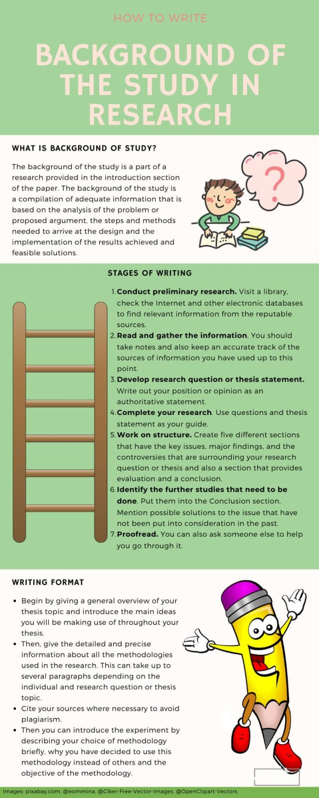 Background of the study in research: how to write one (18