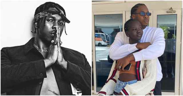 Runtown and lover Adut Akech hit Greece as they celebrate his birthday (photos, videos)