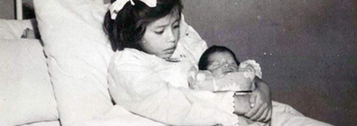 Lina and her newborn son