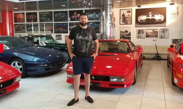 Alleged owner of Lamborghini stolen in Switzerland and spotted in Ghana with Nigerian plate number speaks