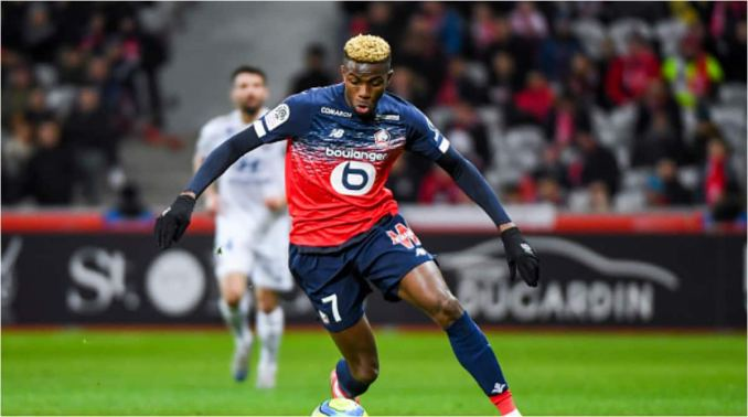 Super Eagles' striker named in Europe's best U21 team for 2019/20 season