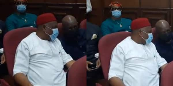 Months after leaving prison, Orji Kalu appears in court again over alleged N7.1bn fraud