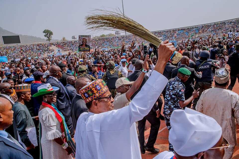 Image result for Buhari postpones Zamfara campaign
