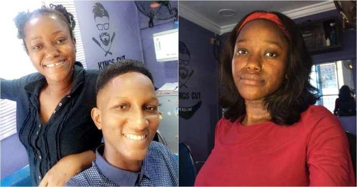 Lagos-based female barber