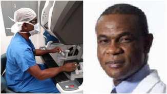 Obinna Igwilo: Nigerian doctor performs brilliant robotic surgery in US