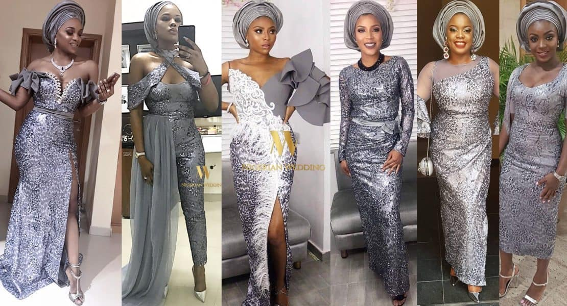 Wow! Latest Asoebi Lace Styles For Ladies To Rock In 2019 ...