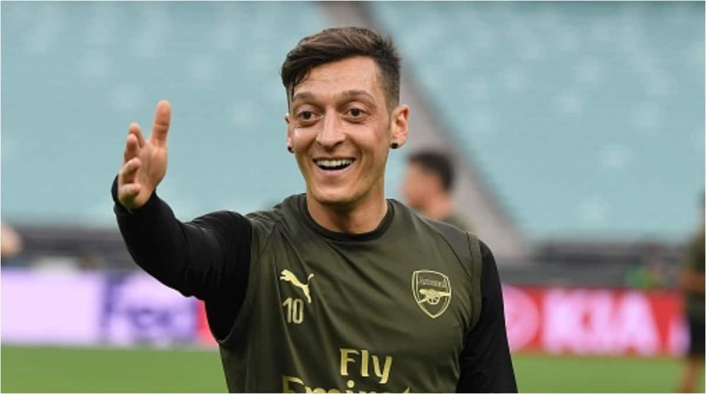 Jubilation in Nigeria as Mesut Ozil names Super Eagles legend as his idol while growing up
