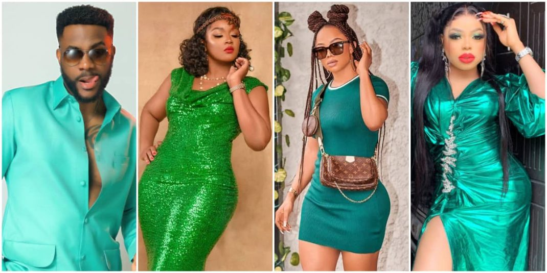Independence day fashion inspiration: Nigerian celebrities who have served looks in green