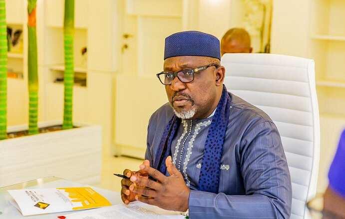 EFCC arrests former governor, Senator Rochas Okorocha in Abuja