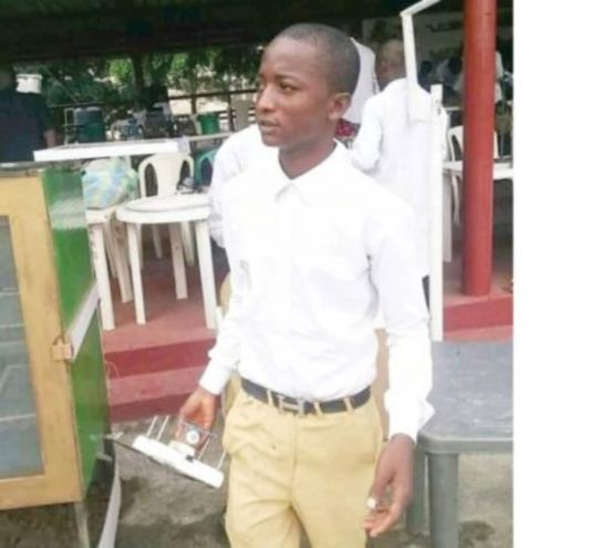 19-year-old Jibrin: How passion for technology led me to create drone