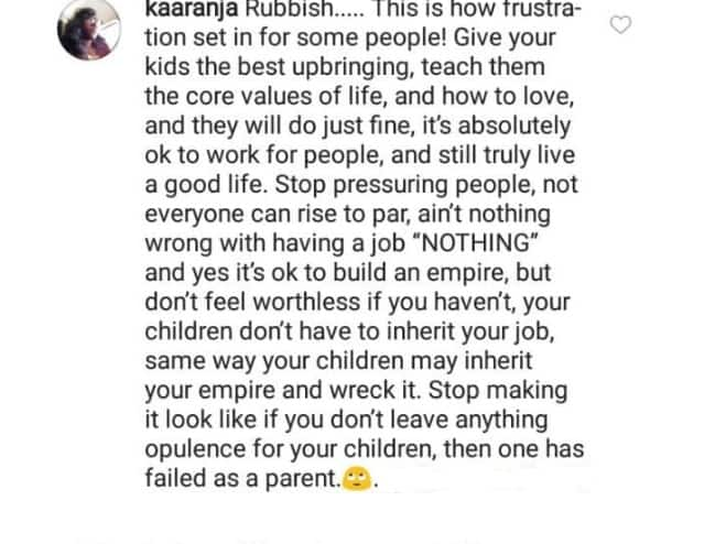 Peter Okoye advices parents on how to secure their children's financial future